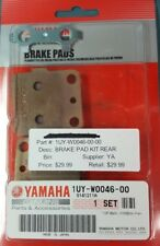 NEW GENUINE YAMAHA 1UY-W0026-00 Brake Pad Kit Rear