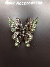 Damen-Haarschmuck aus Strass Schmetterling