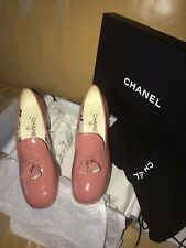 9e995b56b CHANEL Loafers Patent Leather Flats & Oxfords for Women for sale | eBay