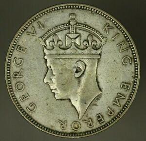 Seychelles Silver Rupee 1939  VF+  A2103