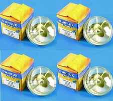 4 x PAR-36 6V / 30W, PAR36, G53 Sockel, VNSP, PINSPOT PIN-SPOT Lampe OMNILUX