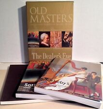 Set of 3 Sotheby's Catalogs THE DEALER'S EYE - OLD MASTER PAINTINGS 1/2006 NY