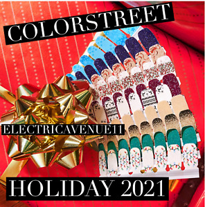 ❄️🎄COLOR STREET HOLIDAY THANKSGIVING 2021 PREORDER CHRISTMAS FREE SHIPPING!🎄❄️