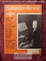 Saturday Review January 28 1956 MOZART HEIFETZ J R R TOLKIEN LORD OF THE RINGS