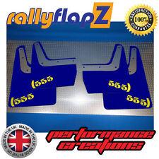 SUBARU IMPREZA Classic(93-01)GC8 Mud Flaps Mudflaps 4mm PVC Blue 555 Logo Yellow