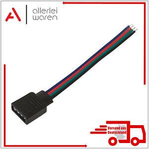 5 RGB Verbinder | Verlängerungskabel | 4-Pin | LED Stripe Anschluss | 10cm Länge