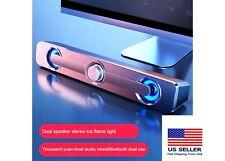 Bluetooth sound bar bass speaker surround sound box subwoofer for Tv Pc laptops