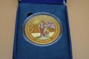 The Bradford Exchange 2016 ' UK EU Referendum' Commemorative Coin With COA