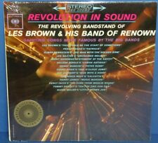 Les Brown Band Of Renown Revolution In Sound SEALED LP record columbia archives