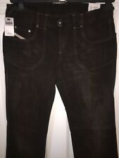 RARE DIESEL INDUSTRY KUZKO WOMENS DARK DENIM BOOT CUT JEANS W30 x L34 *BNWT*
