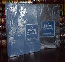 Divine Comedy Dante Alighieri Illustrated New Sealed Deluxe Hardcover Slipcase