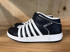 KSWISS K SWISS CLASSIC MID STRAP LEATHER NAVY WHITE GS YOUTH SZ 6 Y  8579401