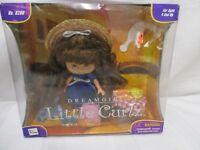 dream girl little Curlz full set NIB hairbrush bread croissant bear table hat