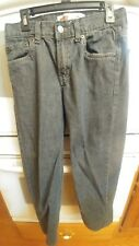 Cost $38 Levis 550 Youth Boys Tapered Leg Relaxed Fit Gray Jeans 12 Regular used