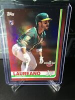 2019 Topps Opening Day RAMON LAUREANO RC ROOKIE A's Red Parallel