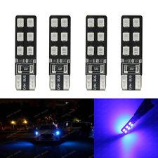 4-pc Deep Blue Error Free T10 2825 W5W LED Bulbs For car Parking City Light 1A