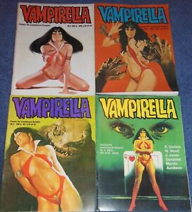 VAMPIRELLA #1-8  COMIC MAGAZINE SET~1981~GERMAN EXCLUSIVE~WARREN~CORBEN~GONZALEZ