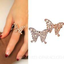 Rhinestone Acrylic Fashion Rings