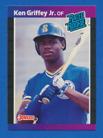 1989 Donruss RATED ROOKIE #33 Ken Griffey Jr RC ROOKIE Mariners HOF NM-MT+