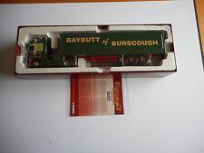 """Corgi CC14101 DAF 105 Box Trailer """"Hauliers of Renown-W Baybutt Ltd"""" Ltd Ed"""