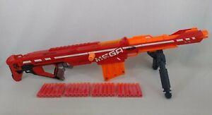 Nerf N-Strike Elite Mega Centurion Rifle Gun Blaster with Bipod & 24 Bullets