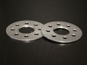 5mm Hubcentric Wheel Spacers - 4x100 - 54.1 Bore - for Mazda Scion Toyota