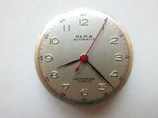 Olma Swiss bumperautomatic watch movement & dial ~ running