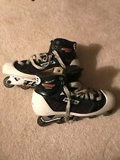 bauer roller hockey goalie skates, size 9.5D