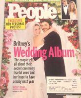 People Magazine Britney Spears Kevin Federline October 4, 2004 080117nonrh