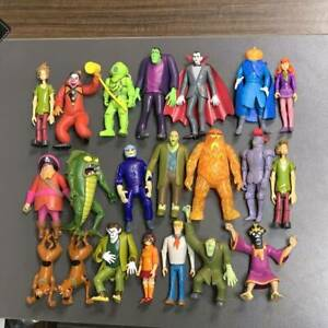 """5"""" Scooby-Doo 50th Anniversary Ghost Zombies Velma Shaggy Monster Figure Kid Toy"""