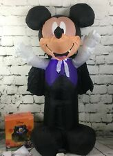 Halloween Vampire Mickey 3.5 ft. Gemmy Airblown Inflatable Blow Up Outdoor Decor