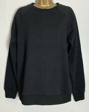 Dorothy Perkins Sample Black Cotton Jersey Sweat Top Size 12