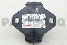 1236154121 Genuine Toyota INSULATOR, ENGINE MOUNTING, FRONT 12361-54121