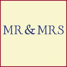MR. & MRS. RING BEARER PILLOW STENCIL  - DIY WEDDING - The Artful Stencil
