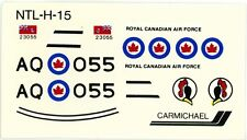 1:72 SCALE CARMICHAEL MODEL KIT DECAL SHEET CANADIAN AIR FORCE F-86 414 SQN