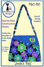 JOSIE'S BAG SEWING PATTERN, Bags & Purses From Sewphisti-Cat Designs SALE