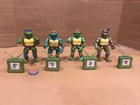 Vintage TMNT Teenage Mutant Ninja Turtles Lot Toon Turtles READ