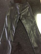 Guess Leather Pants - Size 6 - Black (Lot B)