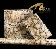 Totenkopf Geschenkpapier - Cheap Bones - Gothic Skelett Papier Schädel Geschenk