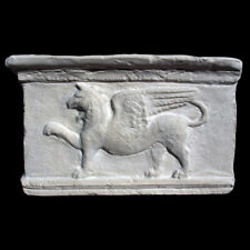 Large Roman Assyrian Persian Griffin sculpture relief plaque