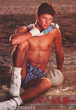 POSTER : ROB SPORRER WITH SOCCER BALL SEXY MALE MODEL - FREE SHIP #2516 LW18 R