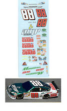 2008 Dale Jr #88 AMP decal 1/64 scale AFX Autoworld Tyco Lifelike