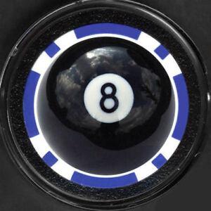 BILLIARDS POOL 8 BALL APA  Poker Chip Card Guard Marker