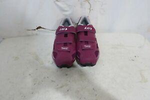 Louis Garneau Women's Multi Air Flex Bike Shoes Magneta/Drizzle US 11.5 EU 43