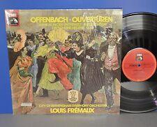 Offenbach Ouvertüren Louis Frémaux D Electrola Cover in shrink M-/VG++ Vinyl LP