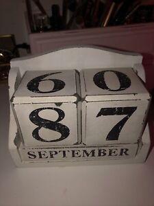 Calendar Block Vintage