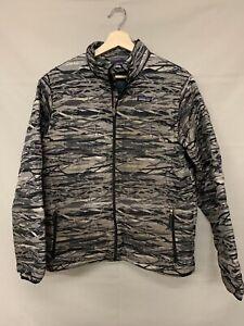 Kid's Boy's Patagonia XXL 2XL 16-18 Camo Puffer Jacket Zip Up Down Camouflage