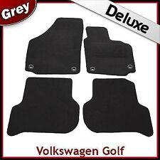 VW Golf Plus 2005-2013 Oval Eyelets Tailored LUXURY 1300g Carpet Car Mats GREY