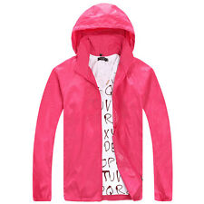 Waterproof Sunscreen Jacket Mens Womens Oversized Lightweight Rain Coat GIFT