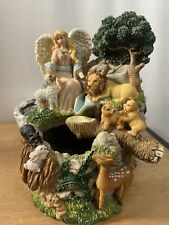Classical Treasures Musical Angel and Cherub Water Fountain